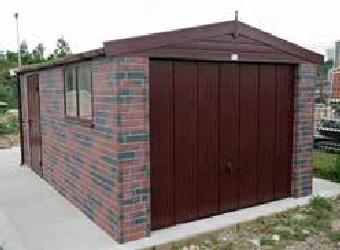 brick garages and concrete garages from garageworld and haydock buildings - Garden Sheds Haydock